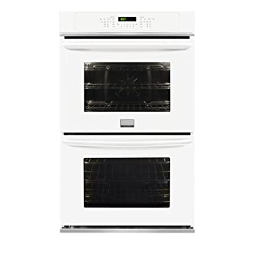 """Frigidaire FGET2765PWGallery 27"""" White Electric Double Wall Oven Convection"""