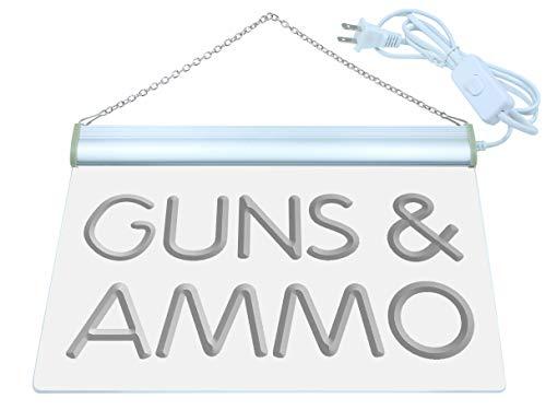 Guns & Ammo Shop Lure LED Sign Neon Light Sign Display i516-b(c)