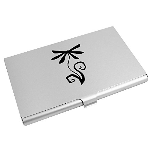 CH00001141 Business 'Flower Silhouette' Credit Azeeda Card Wallet Card Holder Wx8vTWgqOw