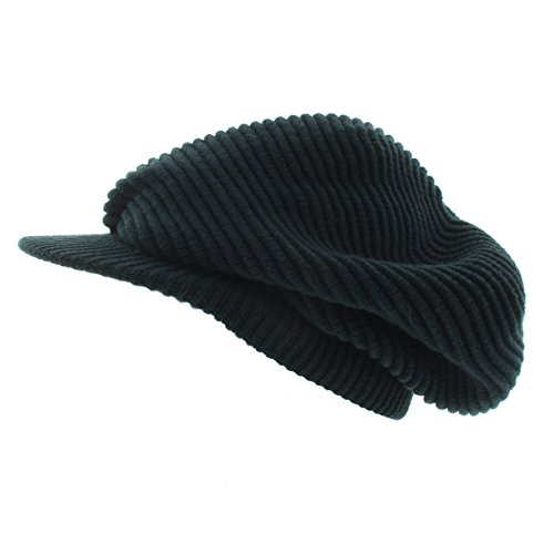 Milani Slouchy Rasta Inspired Woven Knit with Bill