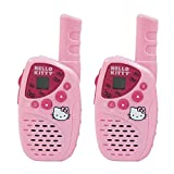 Hello Kitty Walkie Talkie for Girls Mini FRS/GMRS 22 Channel 2-Way Radio Set with 5 Mile Range and 25 Hours Talk