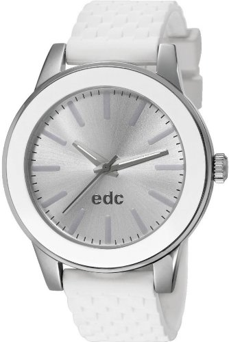 edc by Esprit Soul Wave EE101262001 Wristwatch for women Silicone strap