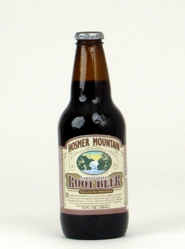 Hosmer Mountain Root Beer (12 bottles) made in Connecticut