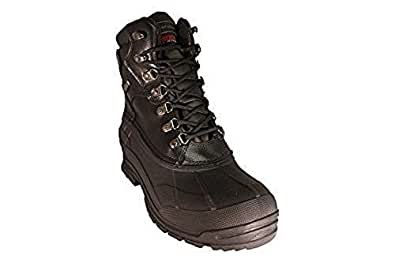 Amazon.com | Zanco Men's Extra Wide Width Waterproof Black