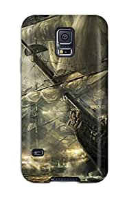 HUlcdNM7830qJoPy Case Cover, Fashionable Galaxy S5 Case - Empire Total War Video Game