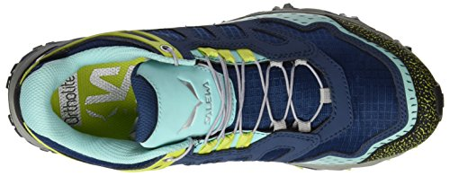 Aruba Blue Dark Zapatillas Ultra Multicolor GTX WS SALEWA para Train de Denim Senderismo Mujer qOwnv