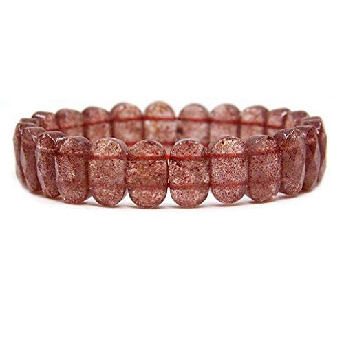 strawberry quartz crystal - 2
