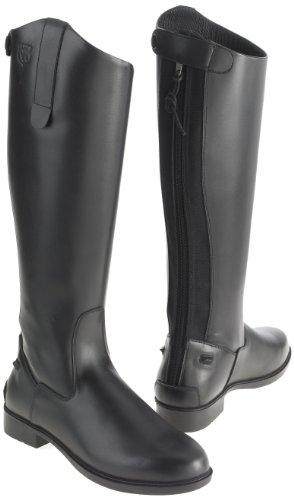 Just Togs Classic - Botas de montar (piel, caña alta) negro
