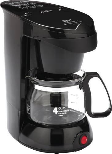 Sunbeam 883041 Coffee Maker 4 Cup, Black by Sunbeam