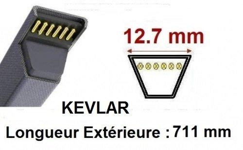 A83 v-Courroie fait avec Kevlar 4L850 XDV48//850