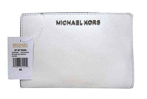 Michael Kors Carryall 2 in 1 Wallet With Card Case (Optic ()