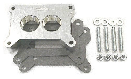 Street and Performance Electronics 00500 Helix Power Tower Plus Carburetor Spacer for Holley 500 cfm 2BBL carb by Street & Performance Electronics