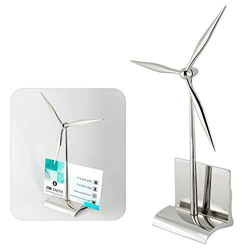 Wind Design Turbines - Design Gifts Wind Turbine Card Holder