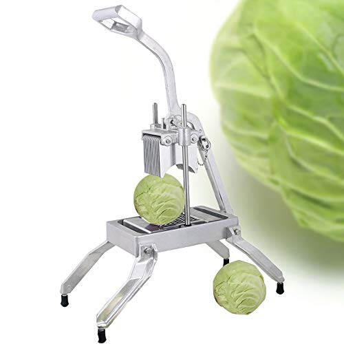 Commercial Manual Vegetable Cutter Slicer Stainless Steel Cutting Machine with 2 Cutting Frame 9mm/ 4.5mm for Onion Fruit