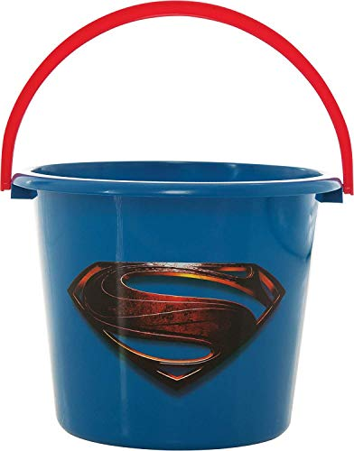 Rubies Costume LLC Superheroes Sand or Halloween Trick-or-Treat Pail (Superman)
