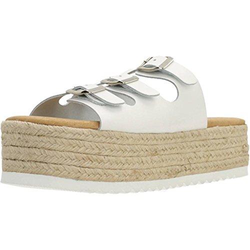 Jeffrey Modelo Para Campbell Sandalias Blanco Chanclas Mujer Marca Campbell Savai Y Mujer Color Blanco wq60PSH6