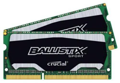 Kit (4GBx2) DDR3 1866 MT/s (PC3-14900) SODIMM 204-Pin Memory BLS2K4G3N18AES4 ()