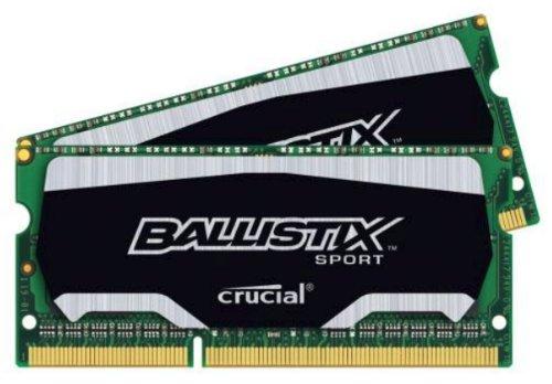 Ballistix Sport SODIMM 8GB Kit 4GBx2 DDR3