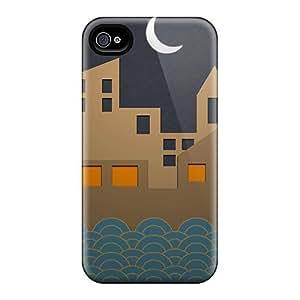 AtqzPoi6866wIUYz Case Cover Silhouette Iphone 4/4s Protective Case