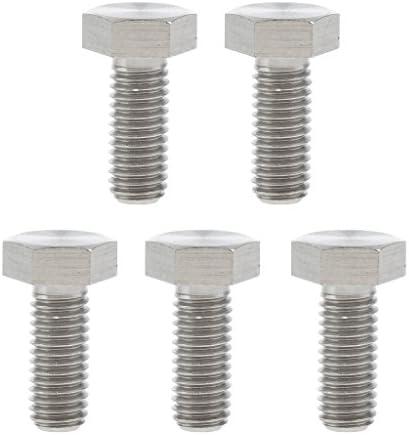 Shiwaki 5delige set M8 x 20 gr5 titanium legering zeskantschroeven met zeskantbouten M8 × 20 5 Pcs Tête Hexagonale