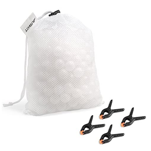 Sous Vide Water Balls with Mesh Drying Bag and Clip Kit Bundle