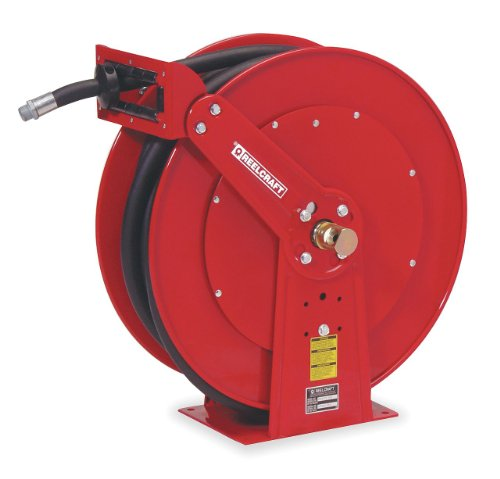 Reelcraft F83050 OLP Spring Retractable Fuel Hose Reel, 3/4