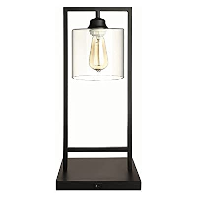 Coaster 902964-CO Company Of America Table Lamp, Table Lamp - Finish: Black Industrial Edison Light Design Switch: Gear - lamps, bedroom-decor, bedroom - 41ymxN5t2eL. SS400  -