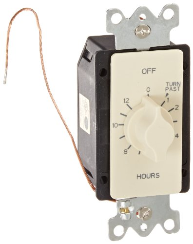 Tork Spring Wound Wall Switch Single Pole With Timer