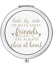 Gift for Friends Females,Best Friends Friendship Gifts for Her,Birthday Thanksgiving Christmas Long Distance Friendship Gifts,Side by Side or Miles Apart, Friends are Always Close at Heart