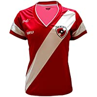 Arza Sports Peru Women Soccer Jersey Color Red 100%...