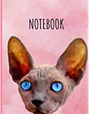 Sphynx Cat Notebook: Blank Lined Journal For Sphynx Owner, Cat Lover, Breed Researcher, Veterinarian, Mom Dad And Grandparents
