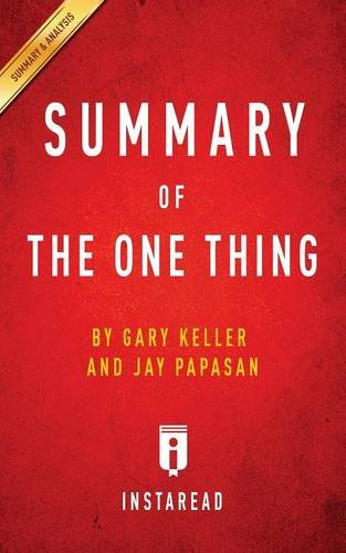 The One Thing Gary Keller Ebook