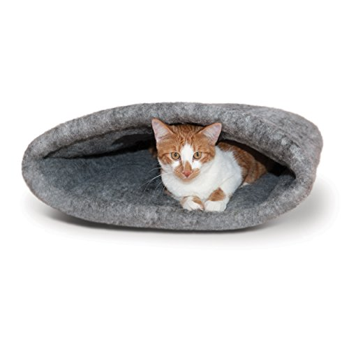 69558f8007a K H Pet Products Amazin  Kitty Sack Gray 22