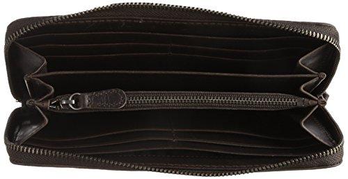 FRYE Melissa Zip Wallet, Slate, One Size