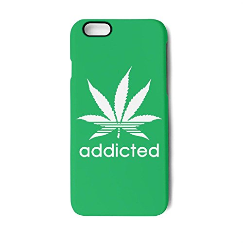 Iphone Case Addicted Weed Leaf Smokers Marijuana Slim Flexible Soft Silicone Bumper Shockproof Case For Iphone 6,Iphone 6s