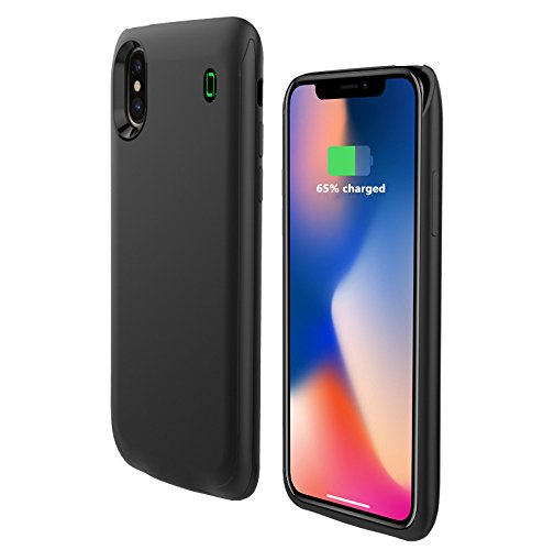 timeless design 4d74f 5bd66 iPhone X Battery Case,Fit Lightning Headphones,U-Good: Amazon.in ...