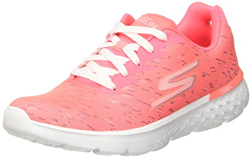 Skechers Go Run 400-Instant, Zapatillas para Mujer Rosa (H.pink)