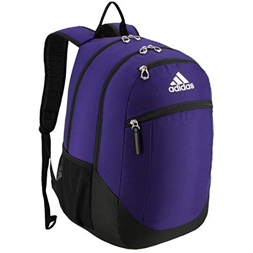 Adidas Purple Backpack - 1