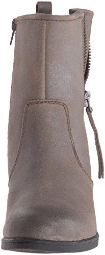 CLARKS Frauen NEVELLA Geschlossener Zeh Fashion Stiefel Dark Taupe Leather