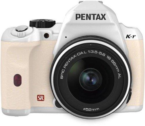 PENTAX デジタル一眼レフカメラ K-r レンズキット ホワイト/ホワイト010 K-rLK WH/WH010