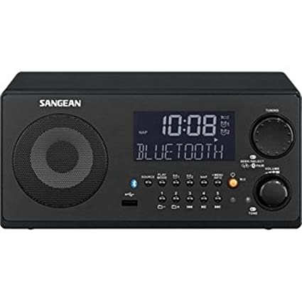 Review Sangean WR-22BK AM/FM-RDS/Bluetooth/USB Table-Top