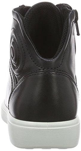Ecco S7 Teen Unisex-Kinder Hohe Sneakers Schwarz (2001black)
