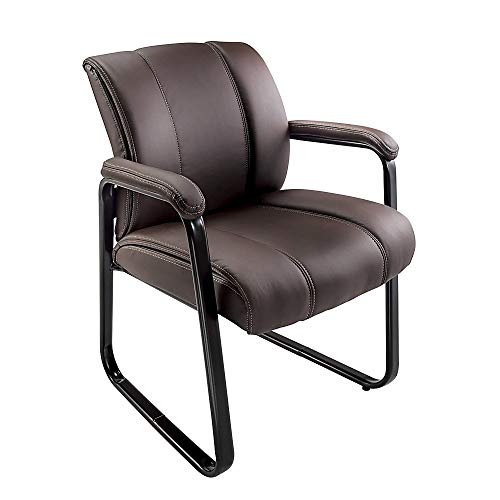 Brenton Studio Bellanca Guest Chair, Brown Black