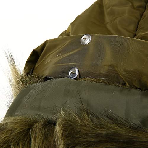 Militare Cotone Wososyeyo Caldo Imbottito Xl In Cappotto E Verde Taglia UIwPqwYx6