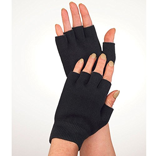 Dermatological Therapy (Medipaq Gel Lined Hand Protection Therapy Gloves - (One Pair) Soothe Your Hurting Hands And Fingers With Gel Protection From Everyday Bumps, Knocks And Scrapes.)