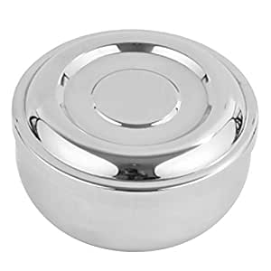 MagiDeal Stainless Steel Bowl Double-walled Insulated Korean Rice Soup Bowl with Lid  sc 1 st  Amazon.com & Amazon.com: MagiDeal Stainless Steel Bowl Double-walled Insulated ...