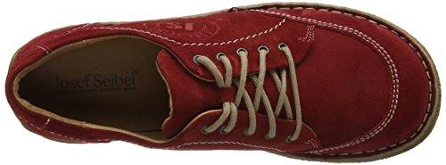 para de Rot Mujer Rojo 02 Neele Seibel Cordones 400 Josef Derby Zapatos wOTFq0Fp