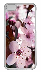 MEIMEICustomized iphone 6 4.7 inch PC Transparent Case - Delicate Cherry Blossom Personalized CoverMEIMEI