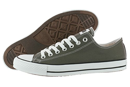 Converse Unisex Chuck Taylor All Star Sneakers Basse In Tela Color Carbone