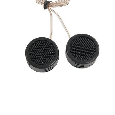 2 x 97dB 500W Dome Tweeters Black for Car Audio System